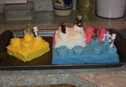 LEGOケーキ