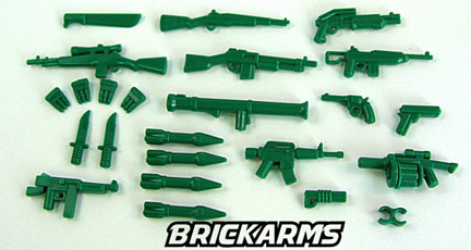 BrickArms Army Men Pack