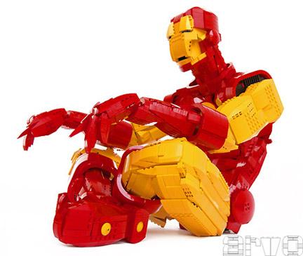 LEGO製アイアンマン