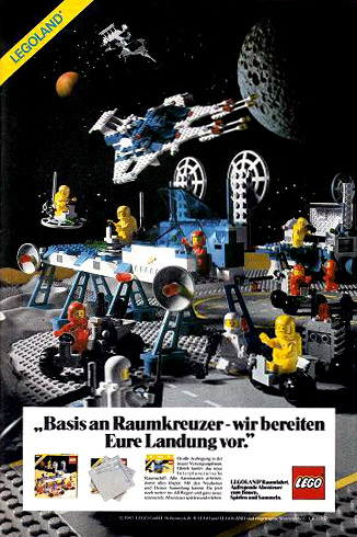 1983年ドイツの広告