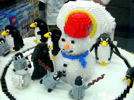 ペンギンたちの春休み