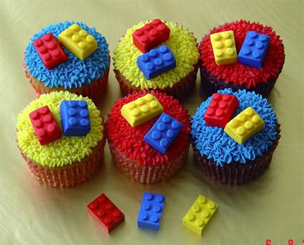 LEGOカップケーキ