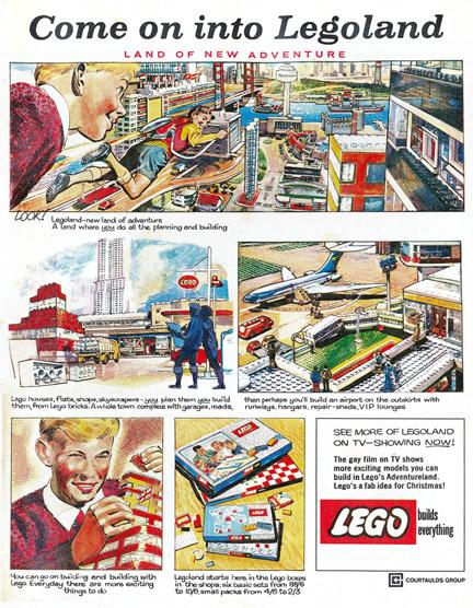 1964年のLEGO広告