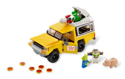 7598 ピザ・プラネット・トラックで救出
