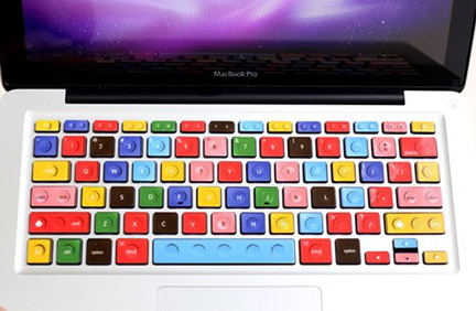 MacBookのキーボードをLEGO風に