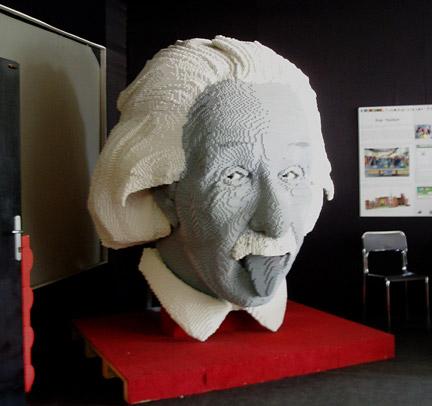 巨大積分モデル アインシュタインヘッド