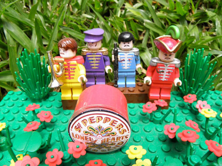 LEGOサージェント・ペパーズ・ロンリー・ハーツ・クラブ・バンド