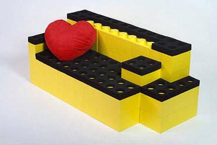レゴのソファ