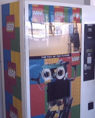 LEGOの自動販売機