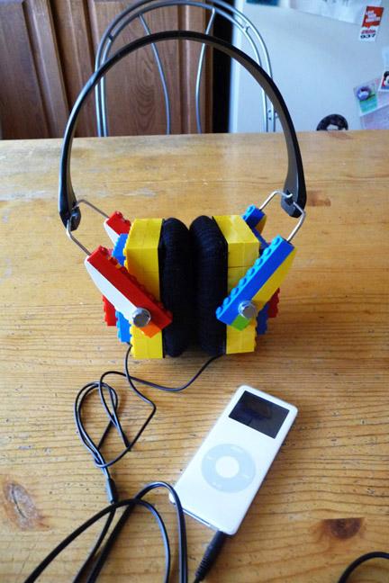 LEGOヘッドフォン