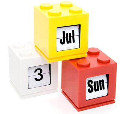 LEGOの万年カレンダー