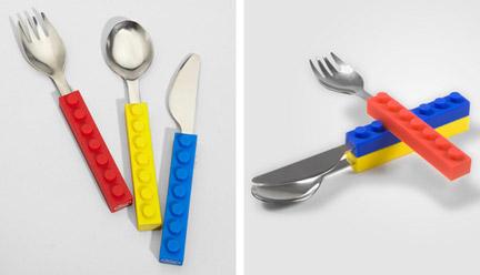 LEGOっぽいスプーン・フォーク・ナイフ
