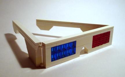 LEGOの3Dメガネ