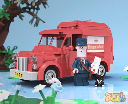 LEGOのポストマンパット