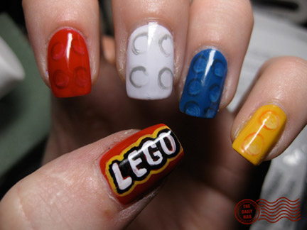LEGOネイル