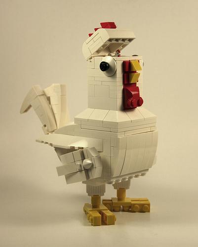 LEGO製のニワトリ・ロボ