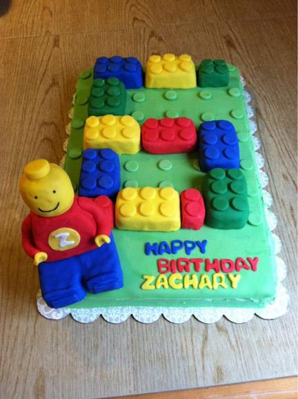 LEGOのバースデーケーキ