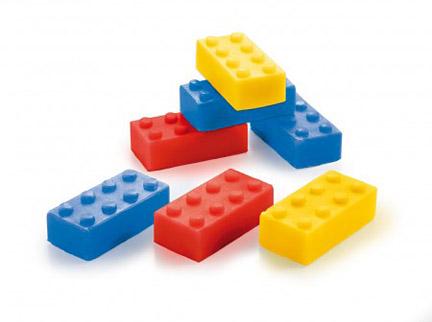 3色LEGO石鹸