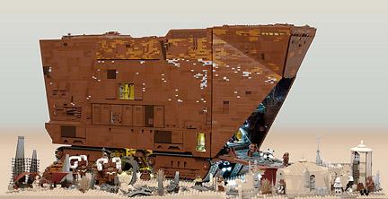 LEGOサンドクローラー