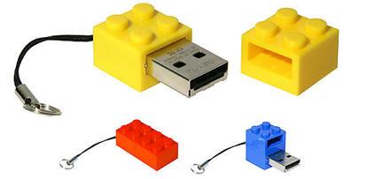 LEGOっぽいUSBメモリ