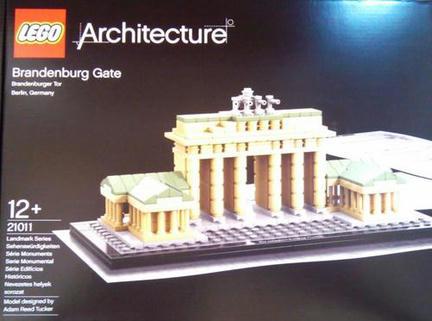 LEGOアーキテクチャーシリーズ「ブランデンブルグ門」