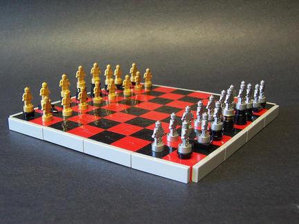 極小のLEGOチェス