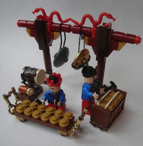 LEGOガムラン