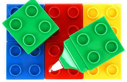 LEGO風修正テープ