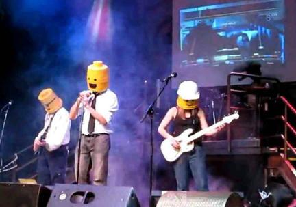 レゴのロックバンド