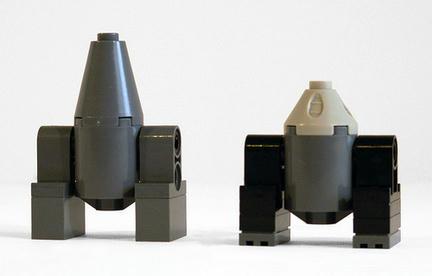 試作品のようなR4とR5ユニット