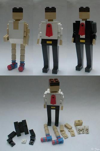 レゴの着せ替え人形(♂)