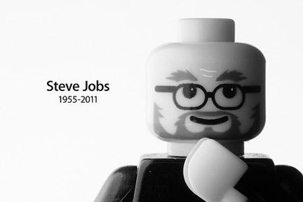 スティーブ・ジョブズ追悼レゴ