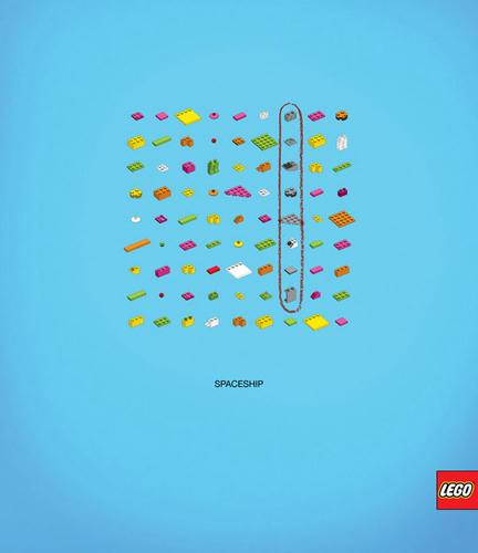コスタリカのクリエイティブなレゴの広告1