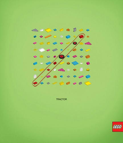 コスタリカのクリエイティブなレゴの広告2