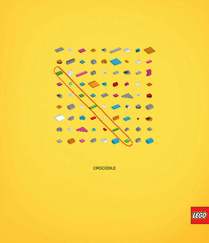 コスタリカのクリエイティブなレゴの広告3