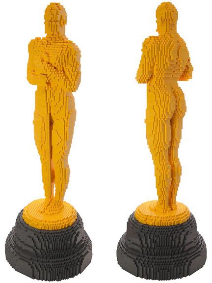 レゴ製オスカー像