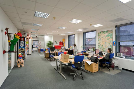 モスクワのレゴ社オフィス1