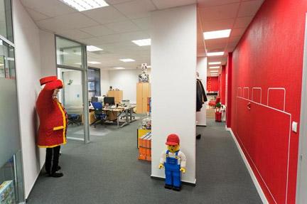 モスクワのレゴ社オフィス2