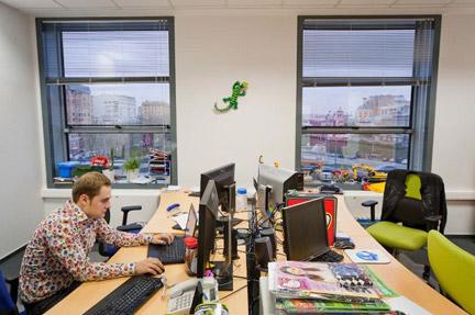 モスクワのレゴ社オフィス3