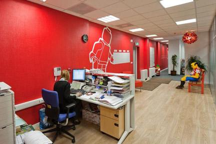 モスクワのレゴ社オフィス4