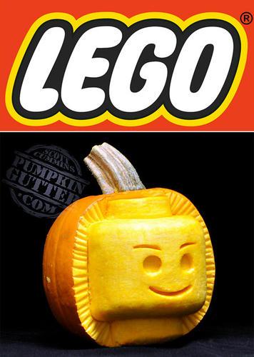 レゴなジャック・オ・ランタン