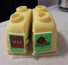 LEGO duploケーキ