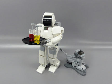 LEGO ASIMOとLEGO AIBO