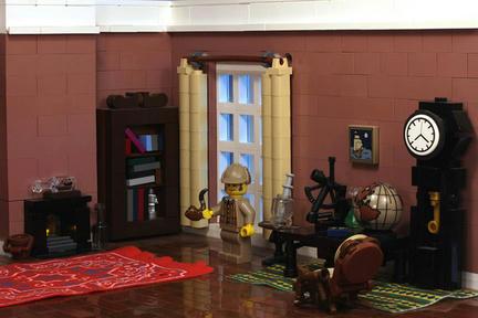 シャーロック・ホームズの家