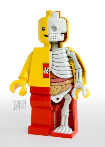 ミニフィグ解剖図の実物 その2