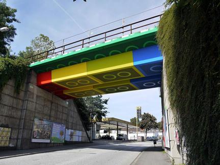 ドイツのレゴ橋