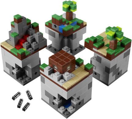 LEGOブロック版「Minecraft」