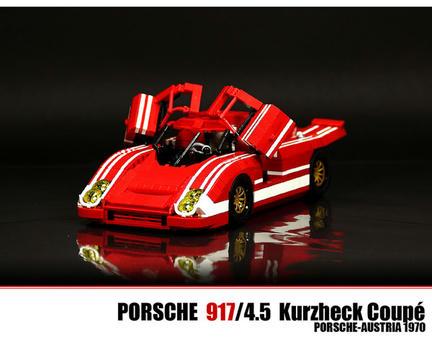 LEGOポルシェ917K
