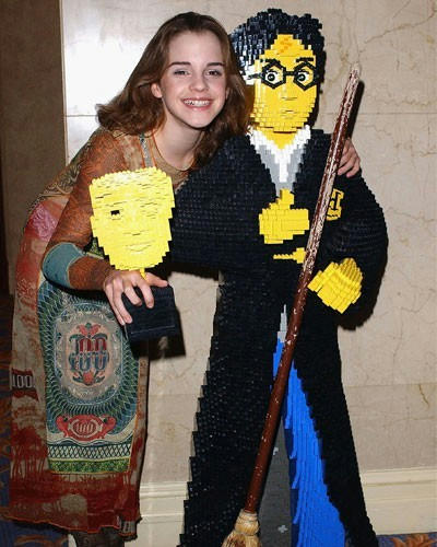 レゴのハリー・ポッターと、本物のハーマイオニー