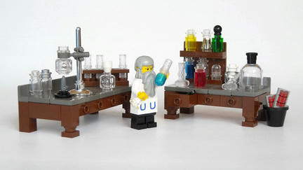 ノーベル博士のミニフィグ